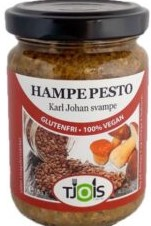 Pesto med karl johan svampe