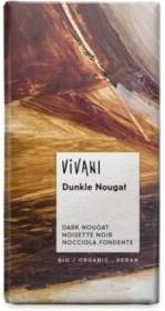 Vegansk chokolade med nougat