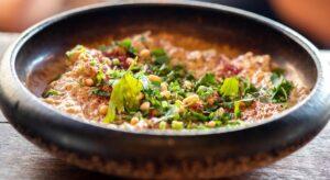 Hummus nedfrysning