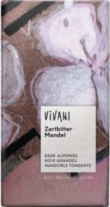 Vegansk mandel chokolade